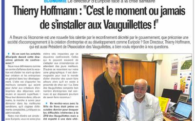 Les Vauguillettes dans l'Indépendant de l'Yonne